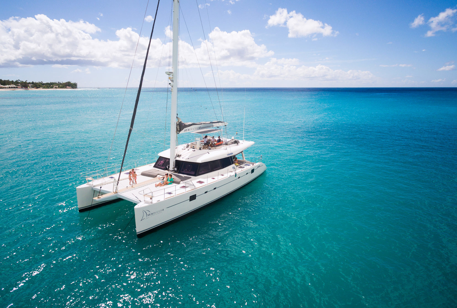 Embrace Barbados - Seaduced Private Yacht Charter